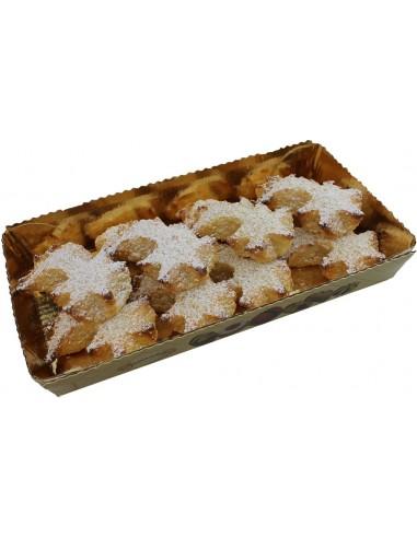 Comètes de pâte d'amandes