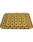 Kleines Quadrat mit Haselnüssen tablett 1500g